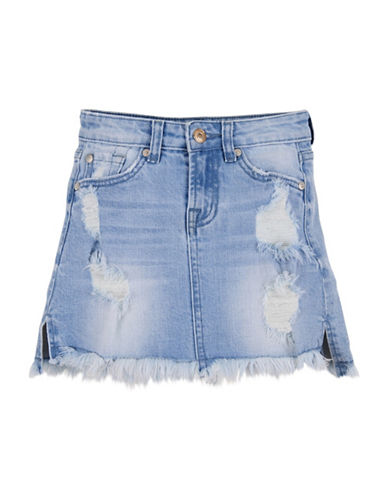 7 For All Mankind Bright Bristol Denim Skirt-BRIGHT BRISTOL-7