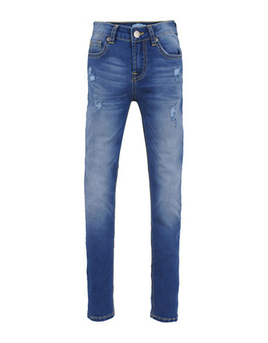 7 For All Mankind Newcastle Denim Jeans-BLUE-8