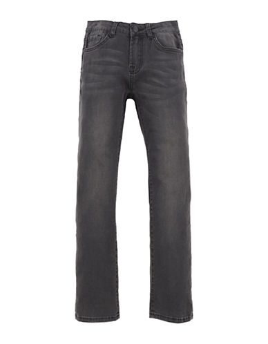 7 For All Mankind Standard Straight Leg Jeans-BLUE-10