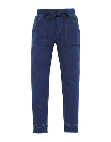 7 For All Mankind French Terry Joggers-BLUE-Large