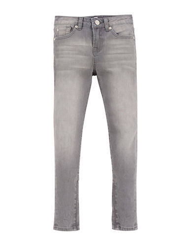 7 For All Mankind Cropped Skinny Jeans-GREY-12