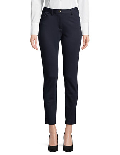 Tommy Hilfiger Classic Ponte Pants-MIDNIGHT BLUE-12