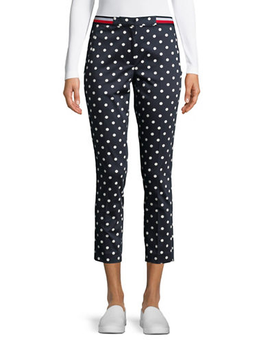 Tommy Hilfiger Polka Dot Pants-NAVY-8