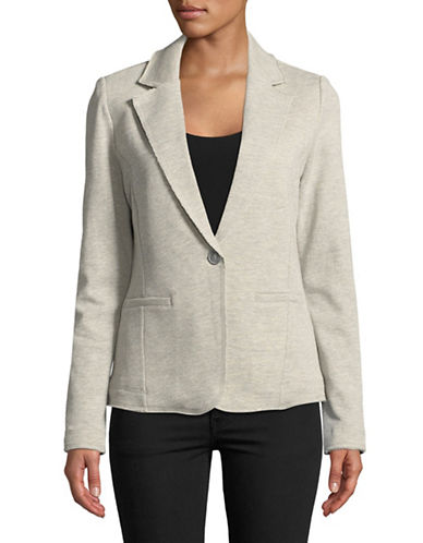 Tommy Hilfiger French Terry Blazer-GREY-Large 89664386_GREY_Large