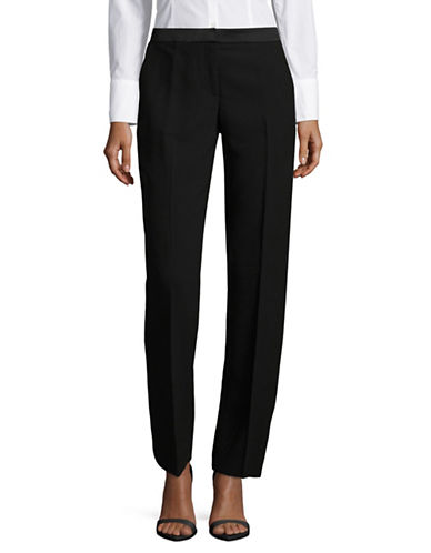 Tommy Hilfiger Tuxedo Boot-Leg Pants-BLACK-10