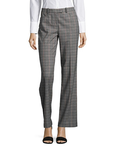 Tommy Hilfiger Plaid Pants-MULTI-8