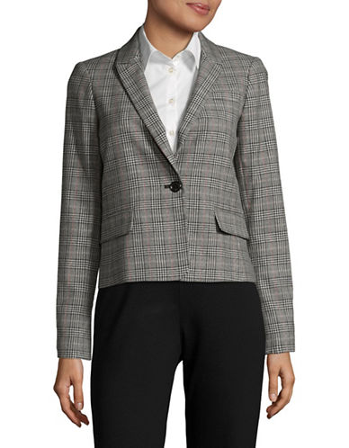 Tommy Hilfiger Plaid Blazer-MULTI-8