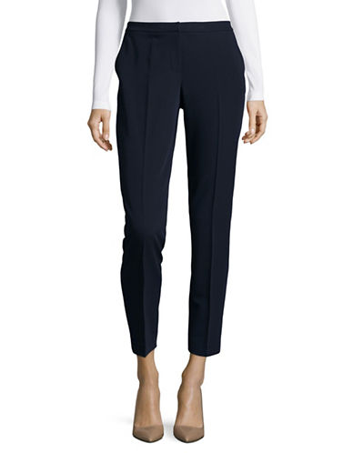Tommy Hilfiger Soft High-Waist Ankle Pants-BLUE-8