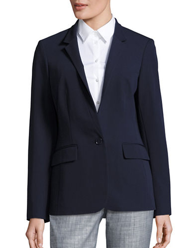 Tommy Hilfiger One-Button Jacket-MIDNIGHT-8