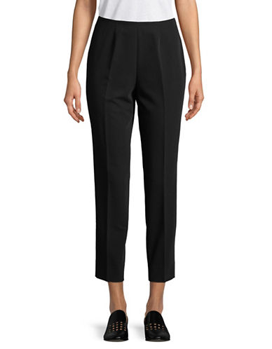 Tommy Hilfiger Slim Ankle Pants-BLACK-2