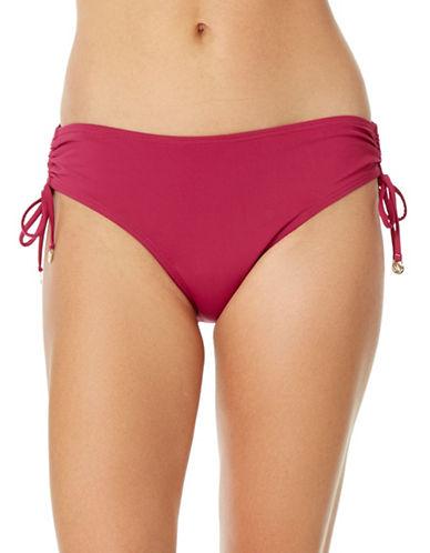 Anne Cole Alex Side-Tie Bikini Bottom-ORCHID-Small