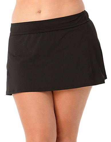 Anne Cole Classic Swim Skirt-BLACK-20W