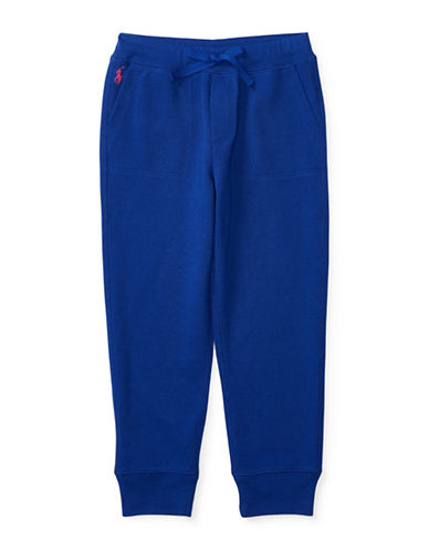 Ralph Lauren Childrenswear Terry Knit Sweatpants-BLUE-2 88657453_BLUE_2