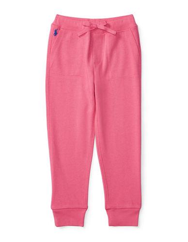 Ralph Lauren Childrenswear Terry Knit Sweatpants-PINK-2 88657456_PINK_2