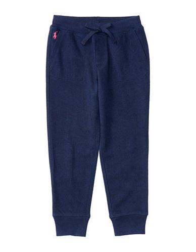 Ralph Lauren Childrenswear Terry Knit Sweatpants-BLUE-6 88657511_BLUE_6