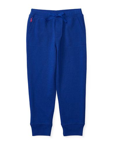 Ralph Lauren Childrenswear Terry Knit Sweatpants-BLUE-6 88657514_BLUE_6