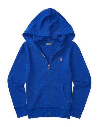 Ralph Lauren Childrenswear Terry Knit Hoodie-BLUE-Small 88659650_BLUE_Small