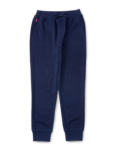 Ralph Lauren Childrenswear Terry Knit Sweatpants-NAVY-Small 88659670_NAVY_Small