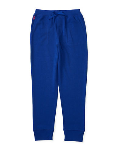 Ralph Lauren Childrenswear Terry Knit Sweatpants-BLUE-Large 88659672_BLUE_Large