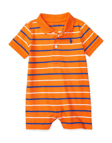 Ralph Lauren Childrenswear Jersey Polo Shortall-ORANGE-18 Months 88777070_ORANGE_18 Months