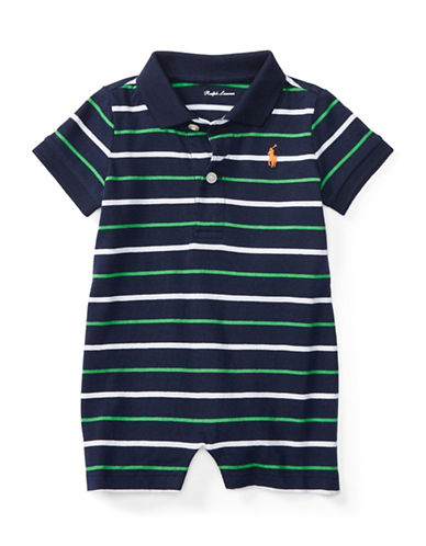 Ralph Lauren Childrenswear Jersey Polo Shortall-NAVY-3 Months 88777066_NAVY_3 Months