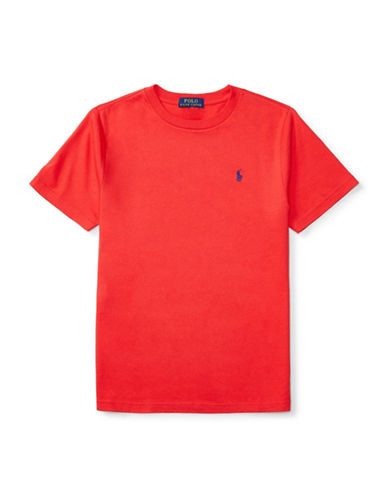 Ralph Lauren Childrenswear Jersey T-Shirt-RED-Large 88933747_RED_Large