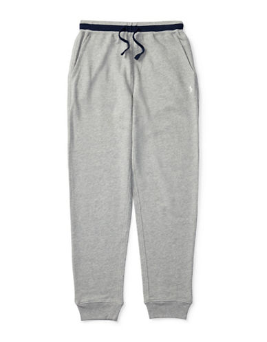 Ralph Lauren Childrenswear Atlantic Terry Pants-GREY-Medium 88840125_GREY_Medium