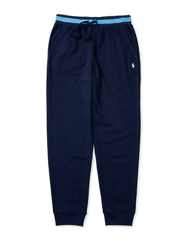 Ralph Lauren Childrenswear Atlantic Terry Pants-BLUE-Large 88840120_BLUE_Large