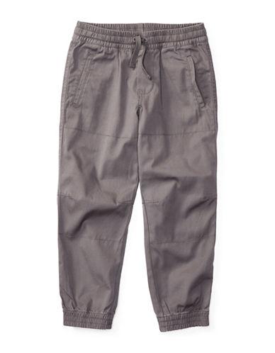 Ralph Lauren Childrenswear Canvas Joggers-GREY-2T 88936943_GREY_2T