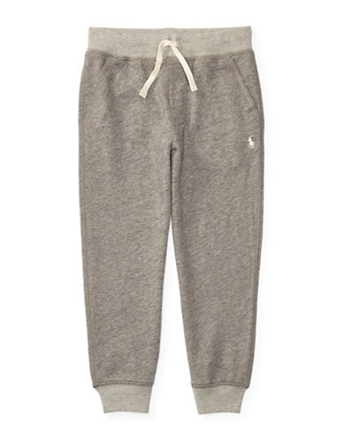 Ralph Lauren Childrenswear French Terry Jogger Pants-GREY-4 88887807_GREY_4