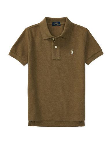 Ralph Lauren Childrenswear Cotton Short Sleeve Polo Shirt-GREEN-2T 88887835_GREEN_2T