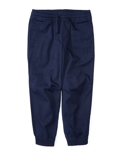 Ralph Lauren Childrenswear Cotton Sweatpants with Pockets-GREY-6 88887857_GREY_6