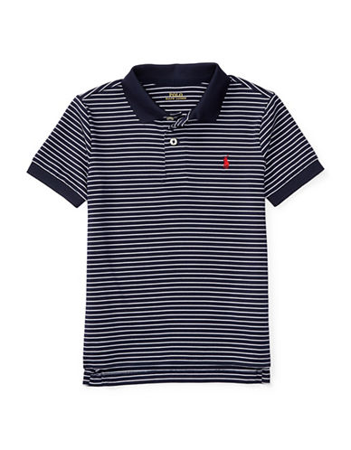 Ralph Lauren Childrenswear Performance Polo-BLUE-2