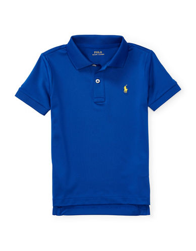 Ralph Lauren Childrenswear Stretch Jersey Polo-BLUE-6