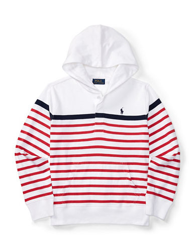 Ralph Lauren Childrenswear Nautical Hooded Top-WHITE-Medium 88933880_WHITE_Medium