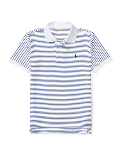 Ralph Lauren Childrenswear Performance Polo-WHITE-Large
