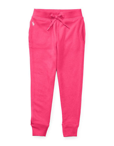 Ralph Lauren Childrenswear Terry Jogger Pants-PINK-2