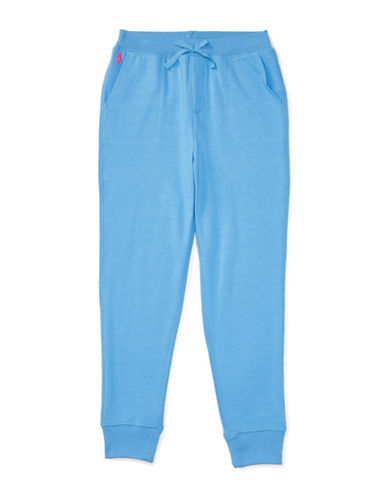Ralph Lauren Childrenswear French Terry Joggers-BLUE-Large 88894753_BLUE_Large