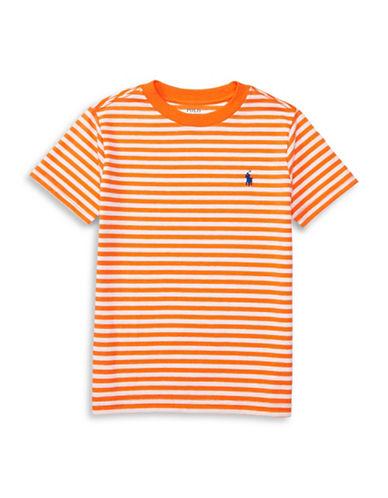 Ralph Lauren Childrenswear Loft Crew Neck T-Shirt-ORANGE-3T 88936974_ORANGE_3T