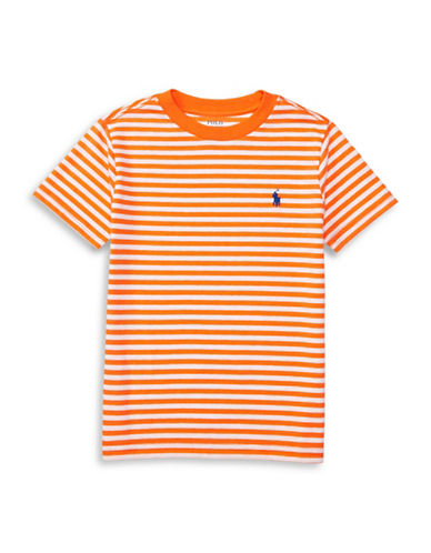 Ralph Lauren Childrenswear Loft Crew Neck T-Shirt-ORANGE-6 88934138_ORANGE_6