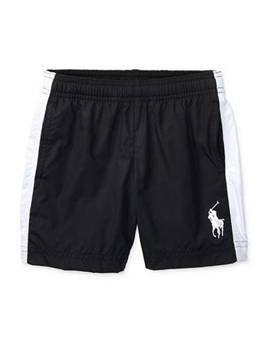 Ralph Lauren Childrenswear Poly-Pieced Shorts-BLACK-5