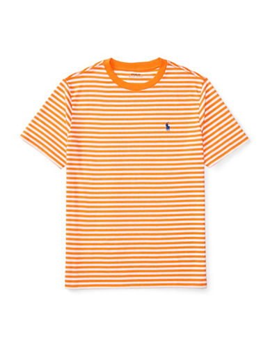 Ralph Lauren Childrenswear Loft Crew Neck T-Shirt-ORANGE-X-Large 88933834_ORANGE_X-Large