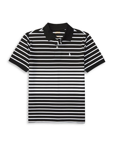 Ralph Lauren Childrenswear Tech Mesh Polo-BLACK-Small 89013173_BLACK_Small