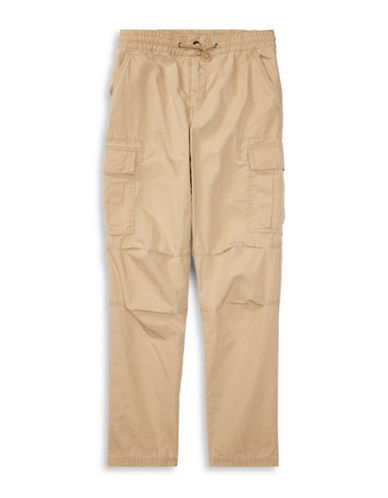 Ralph Lauren Childrenswear Cotton Ripstop Cargo Pants-BEIGE-3