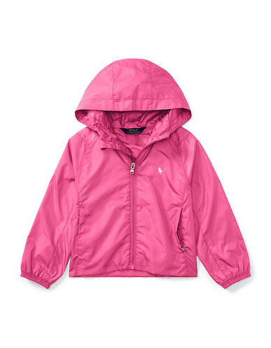 Ralph Lauren Childrenswear Mockneck Hooded Windbreaker-PINK-4
