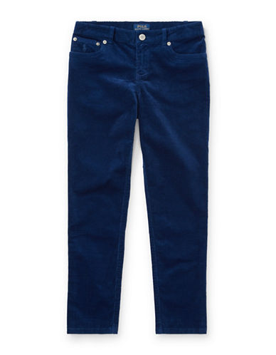Ralph Lauren Childrenswear Corduroy Skinny Pants-BLUE-3