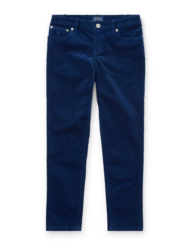 Ralph Lauren Childrenswear Corduroy Skinny Pants-BLUE-14