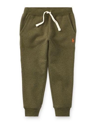 Ralph Lauren Childrenswear Fleece Jogger Pants-GREEN-7