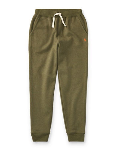 Ralph Lauren Childrenswear Fleece Jogger Pants-GREEN-Large