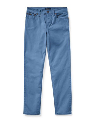 Ralph Lauren Childrenswear Varick Stretch Pants-BLUE-12